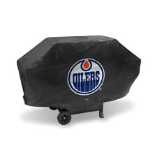 Edmonton Oilers DELUXE Heavy Duty BBQ Barbeque Grill Cover