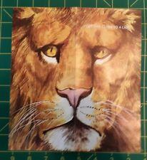 1974 Warner Bros. JUNGLE HABITAT theme park brochure~ lions, giraffes, zebra
