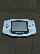 Nintendo Gameboy Advance Platinum Silver Tested Working  GBA
