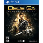 Deus Ex: Mankind Divided - Day One Edition PS4 [Brand New]