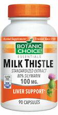 Botanic Choice Milk Thistle Extract, 90 Ct (free shipping)