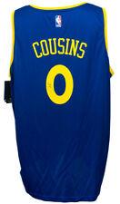DeMarcus Cousins Signed Golden State Warriors Fanatics NBA Blue Fastbreak Jersey