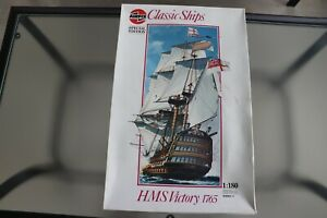 Airfix Classic Ships Special Ed. 1:180 Scale HMS Victory 1765 Model Ship Kit Use