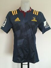HIGHLANDER 2014-15 SUPER 16 S/S HOME JERSEY BY ADIDAS SIZE MEN'S LARGE BRAND NEW