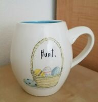 BRAND NEW RAE DUNN by MAGENTA EASTER BASKET COLORED EGGS HUNT MUG Home Decor