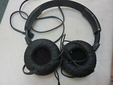 PHILIPS SOFT BLACK HEADPHONES