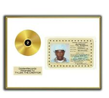 Tylor The Creator Poster, Call Me GOLD/PLATINIUM CD gerahmtes Poster HipHop Rap