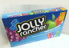 Jolly Rancher Freezer Pops ~ 20 Freeze Pop Box - New Sealed Box