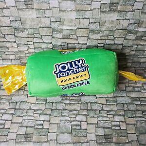 "Green Apple Jolly Rancher Hard Candy Plush Novelty Pillow Bolster LARGE 14"""