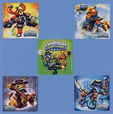 10 Skylanders Swap Force - Large Stickers -  Favors