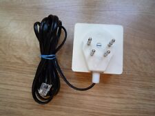 1.90m telephone cable + telephone socket