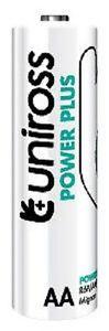 100 x AA UNiROSS POWER PLUS ALKALINE BATTERIES ULTRA HIGH POWER