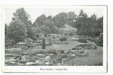 Rock Garden, Thorpe Hall