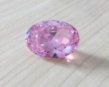 Unheated 9x11mm AAA Pale Pink Sapphire 6.03ct Oval Faceted Cut VVS Loose Gems