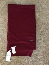 Lacoste Scarf NWT Wool Blend Super Soft! Retail $85