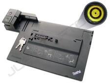 IBM Lenovo ThinkPad T400s T410 Docking Station Port Replikator USB 3.0 & Tasten