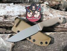 Scrap Yard Knife Co Sage 511 W/ Kydex SR101 Discontinued Busse Combat Kin