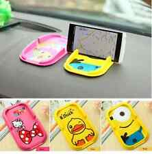 Cartoon Silicone Multi-function Car Phone Bracket Support Anti-skid