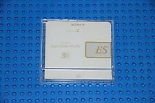 MD        SONY  ES  80 BLANK MINI DISC CLEAR CASE  (1) (USED)