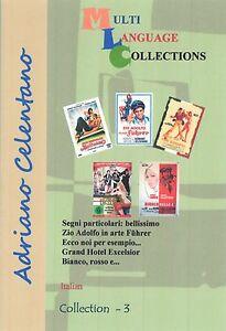 Adriano Celentano 5 movies DVD Collection 3. Italiano. Voice: Italian