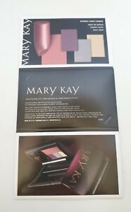 4 Mary Kay Color Card Samples Eyeshadow Blush Lipstick Berries