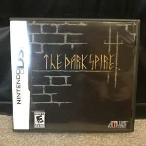 The Dark Spire (Nintendo DS, 2009) Authentic Complete Tested & Works