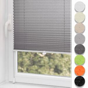 Plissee Klemmfix ohne Bohren Jalousien Rollo Faltrollo Easyfix für Fenster & Tür