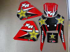 TEAM ROCKSTAR HONDA GRAPHICS 1986-1995 XR250 XR250R  AND XR600R XL250R XR350