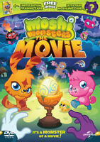 Moshi Monsters - The Movie DVD (2014) NEW