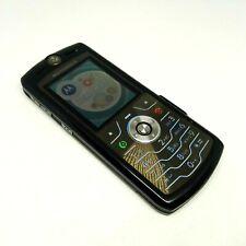 Motorola SLVR L7-Negro (Desbloqueado) Teléfono Móvil Celular de cuatro bandas