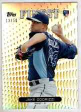 Jake Odorizzi 2013 Topps Finest Gold Refractor RC /50