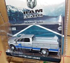 1/64 Greenlight Dodge RAM 3500 mopar Service Truck exclusive hitch dual LARAMIE