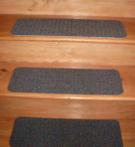 13 Step Indoor Stair Treads Staircase Step Rug Carpet  8'' x  24''  V - 6.