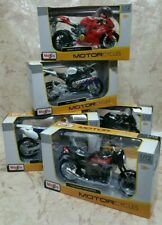 2018 MAISTO 1:12  MODELS MOTORCYCLES  set of 5  NEW in BOX.