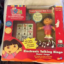 Dora The Explorer Electronic Talking Bingo Game Fisher Price brand new rare