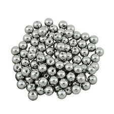 LOT 100 Surgical Steel 6mm Replacement Balls - 14g Threaded
