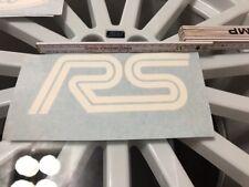 Ford Focus Fiesta ST RS Aufkleber Weiß Glanz