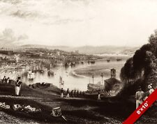 FORT PITT CHATHAM HARBOUR KENT ENGLAND BRITISH PAINTING ART REAL CANVAS PRINT