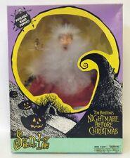 Vintage 1993 Tim Burton's NIGHTMARE BEFORE CHRISTMAS Santa Hand Puppet SEALED!