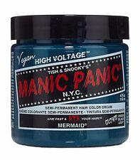 Manic Panic Vegan Semi Permanent Hair Color Dye Cream 118 mL Mermaid