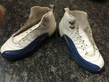 "Jordan 12 ""french blue"" size 6.5y **Rare OG 2003 release**Great condition !!"