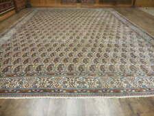 C1930 Antiquequm Boteh Design Qoom Quum Ghoom 10x13 Estate Sale Rug
