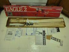 Vintage Radio Control Carl Goldberg, Eagle 2 R/C model airplane kit 56. NOS/New!