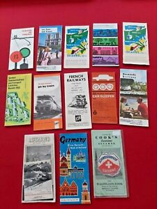 RAILWAY EARLY GUIDES, BROCHURES,RULES, TIMETABLES  ECT..c.1950's - 60's