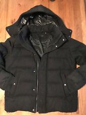 Uniqlo Down Jacket Size Large Black Puffer