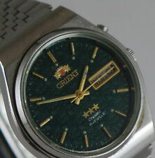 VINTAGE OLYMPIC SEOUL 1988  AUTOMATIC WRISTWATCH ORIENT  34 mm 21 JEWELS