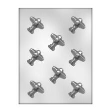 CK Products 90-15304 Airplane Plastic Chocolate Mold, 1-3/4
