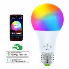 6.5W WiFi RGBW Smart Dimmable LED Light Bulb E27 W/ Google Home /Alexa Control