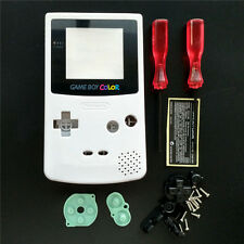 White Housing Shell Case For Nintendo Game Boy Color Gameboy Color GBC