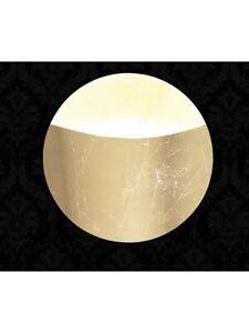 Wall Light Modern Lamp Glass Leaf Gold Round DESE-108